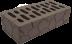 Блоки стеновые: Кирпич коричневый рельефный «черепаха» М125 в 100 пудов