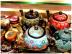 Казаны. Узбекская и турецкая посуда: Чайник точечный Турецкая керамика в Сельский магазин