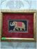 """Панно, картины: Картина """"Слон"""" в Шамбала, индийская лавка"""