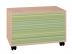 Комоды детские: Сундук Калейдоскоп 1 в Стильная мебель