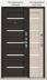 Двери Центурион: Центурион LUX-3 Чёрный муар/Лиственница светлая щит X16 в Модуль Плюс