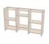 Книжные шкафы и полки: Полка книжная средняя (Линаура) в Стильная мебель
