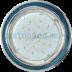 Светильники GX53, GX70: Ecola GX53-H4 DL3901 св-к Круг под стеклом Голубой блеск/хром 38x106 FB53GRECB в СВЕТОВОД