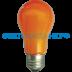 Цветные лампы: Светодиодная лампа Ecola ЛОН A55 E27 8W 108x55 Оранжевая пласт./алюм. K7CY80ELY в СВЕТОВОД