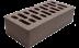Блоки стеновые: Кирпич Л-Кузнецкий М125 коричневый в 100 пудов