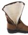 Обувь подростковая и детская: Сапоги подростковые коричневые, кожа, замша, молния в Сельский магазин