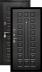 Двери Цитадель: Дверь входная металлическая Сенатор МДФ/МДФ 12см в Салон дверей Доминго Ноябрьск