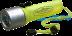 Светодиодные фонари, пушлайты: Космос фонарь подводный DIVE3WLED (4xR6) 1св/д 3W (300lm), желтый./резин, водонепр. до 20 м в СВЕТОВОД