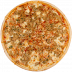 Пицца на тонком тесте: Грибная в Сбарро