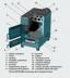 ZOTA: Котел отопительный, твердотопливный Зота ZOTA «Дымок-12М» в Антиль