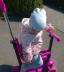 """Транспорт для малышей: Самокат трехколёсный """"Slider"""",колеса: PU, светящиеся, съемные: сидение, родительская ручка, корзина в Игрушки Сити"""