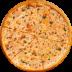 Пицца на тонком тесте: Маргарита в Сбарро