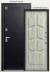 Двери Центурион: Центурион Т-2 Чёрный муар\Полярный дуб в Модуль Плюс