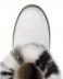Унты, валенки, сапоги, чуни женские: Унты женские на войлоке белые, яркий бело-черный мех в Сельский магазин