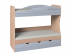 Детские и подростковые кровати: Кровать Калейдоскоп 6 (800, усилен. настил) в Стильная мебель