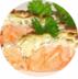 Горячие блюда: Горбуша в шубке, в сливках в Обеды в офис Красноярск