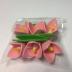Сахарные украшения: Украшение сахарное Колокольчик розовый (упак.6шт) в ТортExpress