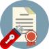 Подписание документа электронной подписью в Омега-сервис