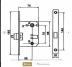 Замки: Замок Морелли сантехнический WC-2070 AB в Двери в Тюмени, межкомнатные двери, входные двери
