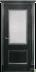 Двери Белоруссии  шпонированые: Гранд (чёрная патина) в STEKLOMASTER